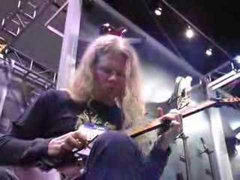 Jeff Loomis (Nevermore) Clinic - NAMM 2008  (2/2)