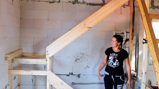 ⚫ Самодельная Лестница за 60$ Превзошла все ожидания! КАК построить ДЕШЕВЫЙ Дом? ►19 смотреть онлайн в хорошем качестве - VIDEOOO