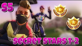Secret Battle Stars Semaine 1 - 2 Fortnite SEASON 5