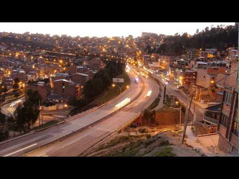 Time Lapse La Paz - Bolivia