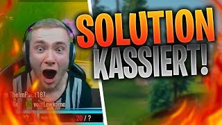XTHESOLUTION bekommt NASENBLUTEN ?! | REWINSIDE LACHT MOO AUS | FORTNITE HIGHLIGHTS DEUTSCH