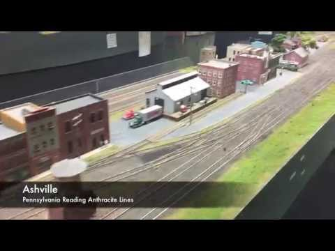 Short Line Model Railroad Club ~ HO Scale Train Layout Tour