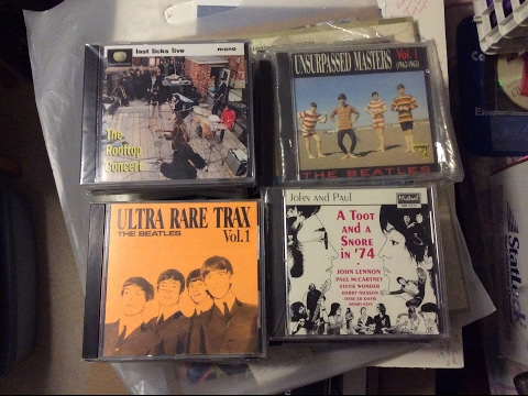 Rare Beatles Bootleg CDs
