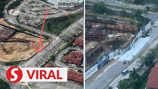 Parts of Jln Sri Hartamas 1 closed to traffic after sinkhole appears