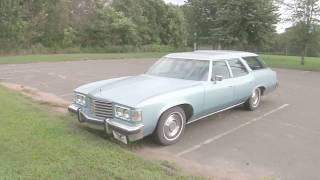 Another Clamshell wagon! -'76 Pontiac Catalina Safari, 455 V8