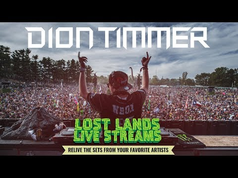 Dion Timmer Lost Lands 2017 - Day 3 Live Stream