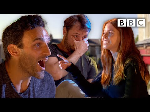 EastEnders celebs wince watching their younger selves - BBC
