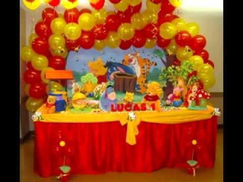 Birthday Party Table Decoration Decor Ideas Youtube