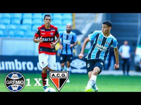 Grêmio 1 X 1 Atlético-GO(HD) Melhores Momentos E Gols ( Brasileirão ) 26/11/2017