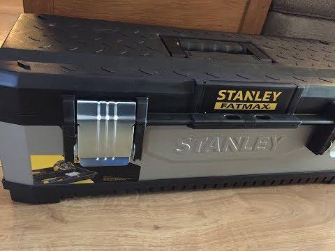 Stanley FatMax 26 Inch Metal  Plastic Tool Box