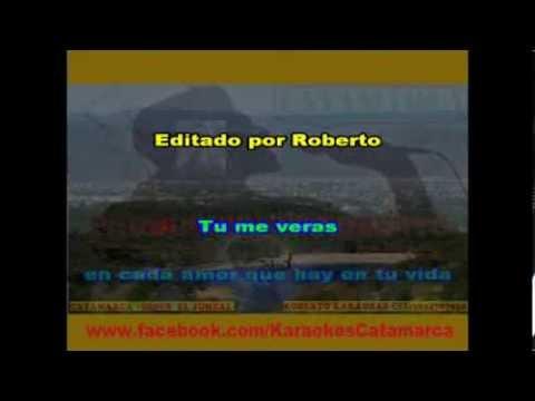 La Barra   Tu Me Veras  ( Karaoke )  (PRODUCCIONES ROBERTO)