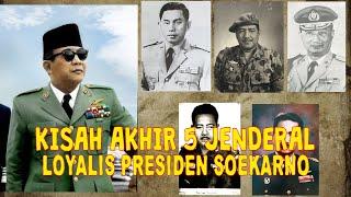 Download lagu KISAH AKHIR 5 JENDERAL LOYALIS PRESIDEN SOEKARNO