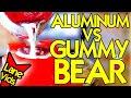 MOLTEN ALUMINUM VS WORLD'S LARGEST GUMMY BEAR