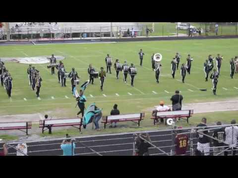 Royal Palm Beach High School Marching Band (BOTB) 2018 @ Palm Beach Lakes High