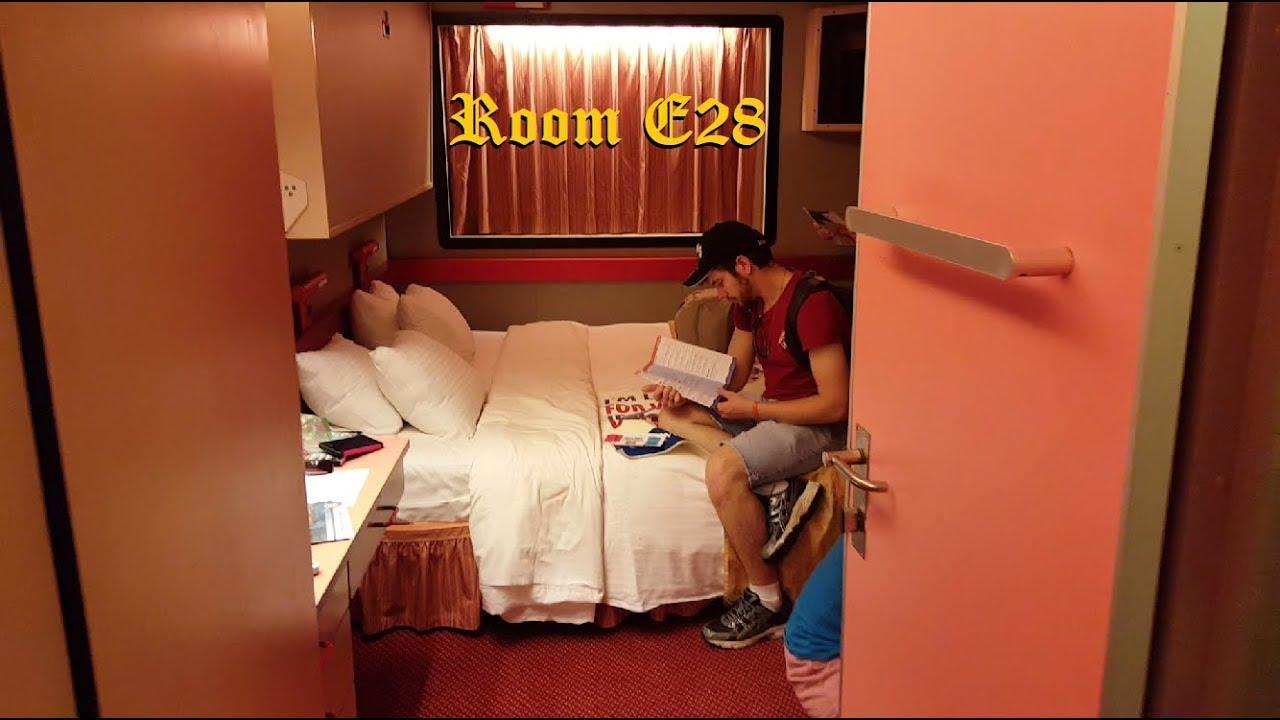 Carnival Elation Cruise Ship Tour Of Interior Stateroom E28