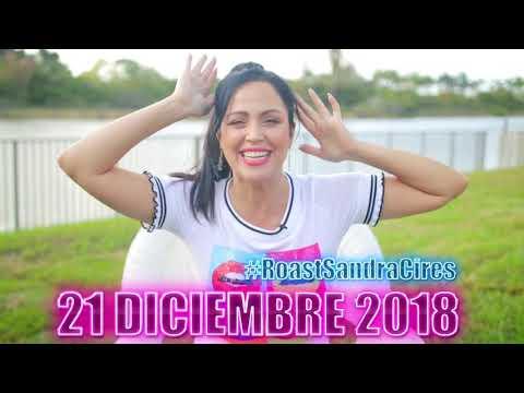 Faltan 4 días! #RoastSandraCires 🔥 21 Diciembre 2018 🔥