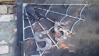 Номер для гаража или как украсить гаражные ворота своими руками(Ничего сложного в изготовлении подобного номера для гаража нет, нужна только фантазия, а железяки есть..., 2015-04-06T07:19:44.000Z)