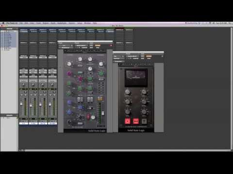 Mix Tutorial: Waves SSL G-Channel Strip Plugin