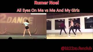 DANCE MOMS SAME CHOREOGRAPHY ALL EYES ON ME / ME AND MY GIRLS