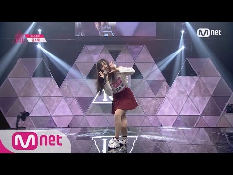 [Produce 101][Full] REDLINE Kim So Hye - ♬Somehow EP.01 20160122