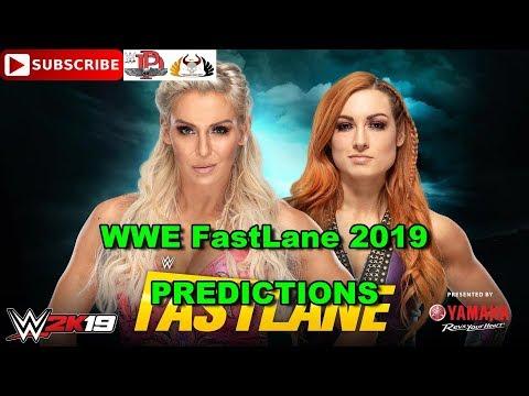 WWE FastLane 2019 Charlotte Flair Vs. Becky Lynch Predictions WWE 2K19
