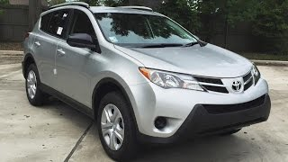 2015 Toyota RAV4 LE Full Review, Start Up, Exhaust