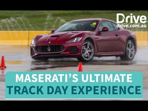 Maserati's Ultimate Track Day Experience | Drive.com.au