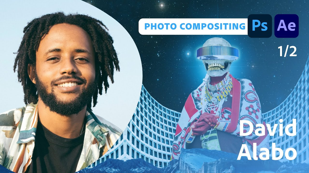 Designing an Afrofuturistic Collage with David Alabo - 1 of 2