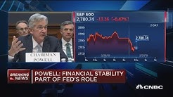 Fed Chair Powell: Bank mergers are the lowest in 15 years