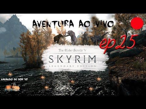 "The Elders Scrolls: Skyrim . Episódio 25 . Detonado / Walkthrough ao Vivo ""Coleccionador de livros"""