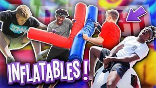 SIDEMEN FUNNIEST INFLATABLES MOMENTS!