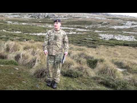 Battlefield Tour Of Mount Harriet 1