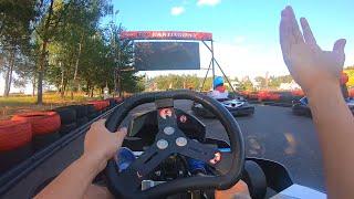 POV Go Kart Race! (FULL RACE)