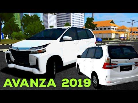 Mod Bussid Avanza Facelift 2019 Type G Youtube