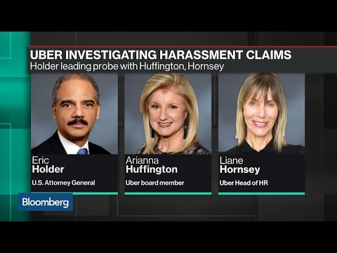 Uber Taps Eric Holder to Lead Sexual Harassment Probe