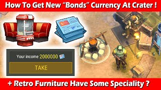 HOW TO GET BOΝDS CURRENCY AT CRATER + NEW FURNITURE PACK RETRO ! Last Day On Earth Survival