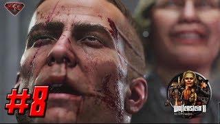 WOLFENSTEIN 2: THE NEW COLOSSUS – Full Gameplay Walkthrough Part 8 - 1080p HD