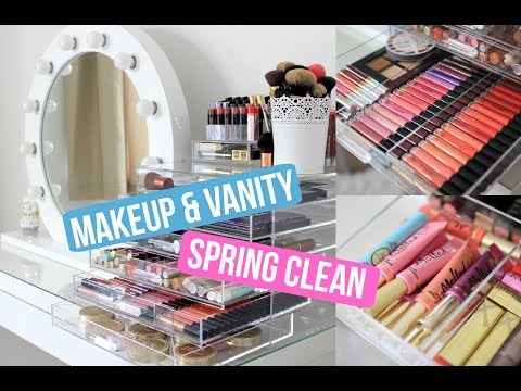 Makeup and Vanity Spring Clean | Liza Prideaux