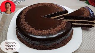 ЧУДО Торт Без Духовки и Печенья ✧ На Сковороде ✧ Мягкие Коржи Без пропитки