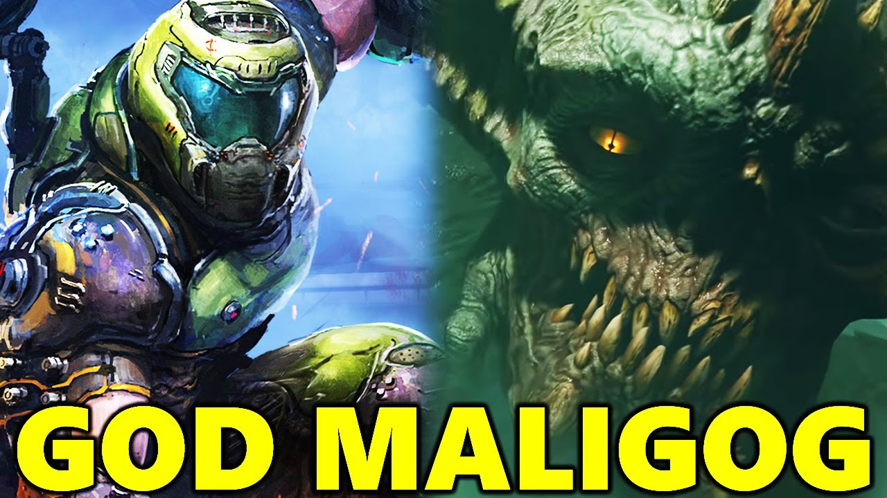 NEW Doom Eternal DLC Lore! Maligog The Ancient Titan, New Dimensions And More! thumbnail