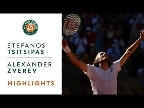 Download Stefanos Tsitsipas vs Alexander Zverev - Semifinal Highlights | Roland-Garros 2021
