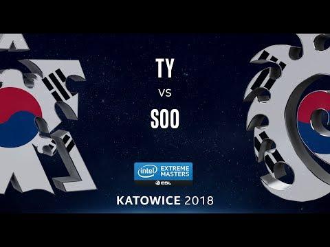 StarCraft 2 - TY vs. soO (TvZ) - IEM Katowice 2018 - NA Qualifier Ro16