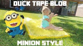 Minion Duck Tape Blob