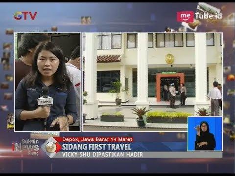 Sempat Jadi Model Promo First Travel, Vicky Shu Hadiri Sidang Berikan Kesaksian - BIS 14/03