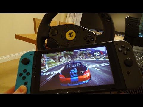 Steering Wheel for Nintendo Switch Racing Games (Quick Version)