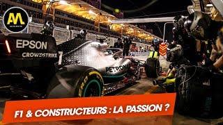 La F1 et les constructeurs : un mariage de passion ?