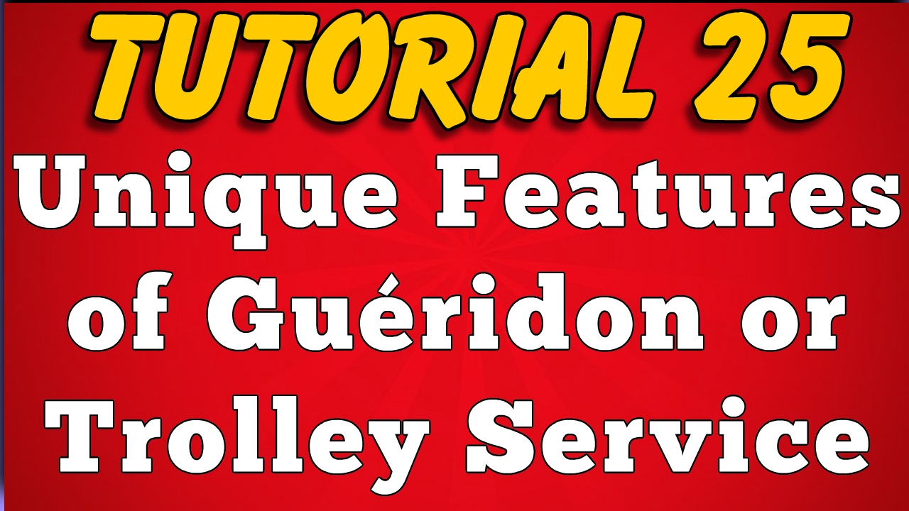 Features Of Gueridon Service Tutorial 25 Youtube