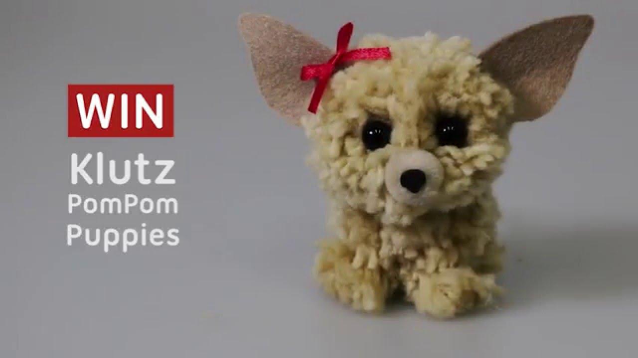 Win pom pom puppies australian geographic youtube for Pom pom puppy craft