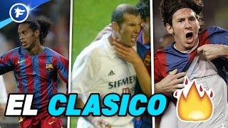 LES MEILLEURS CLASICOS DE l'HISTOIRE | REAL MADRID - FC BARCELONE