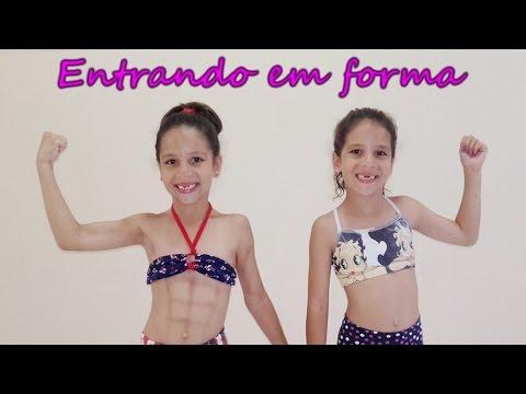ENTRANDO EM FORMA COM A BLOGUEIRA FITNESS MELISSA